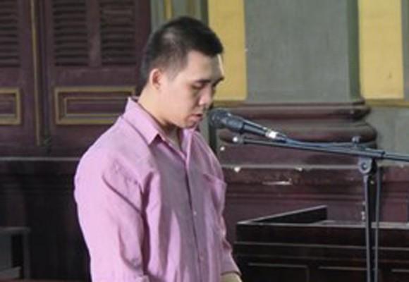 Bị cáo Phùng Huệ Nhơn tại tòa phúc thẩm