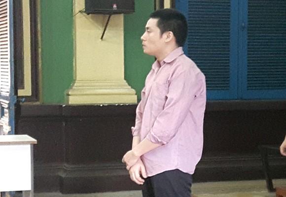 Bị cáo Trần Thanh Duy tại tòa