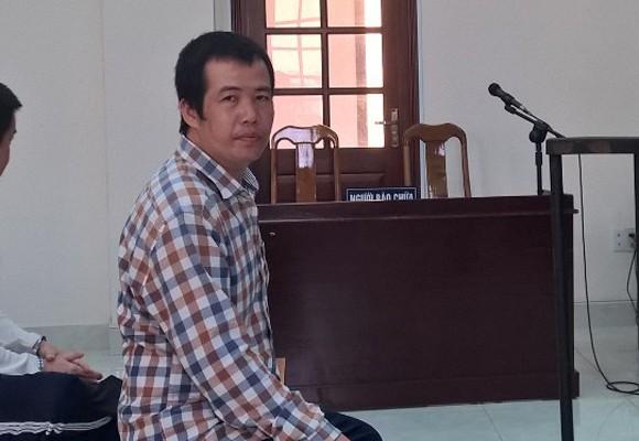Bị cáo Nguyễn Văn Nghiêng tại phiên tòa phúc thẩm