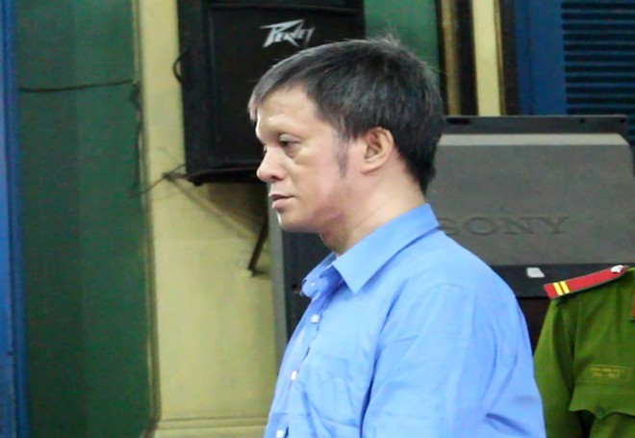 Bị cáo Đoàn Nguyễn Ngọc Tấn tại tòa phúc thẩm