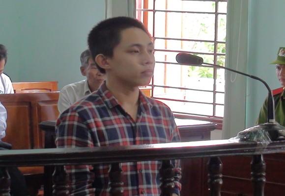 Bị cáo Lê Huy tại tòa
