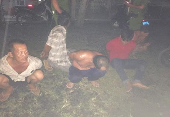 Nhóm 5 người bị Công an bắt giữ