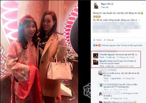 MC Thảo Vân thân thiết với bạn gái mới của Công Lý