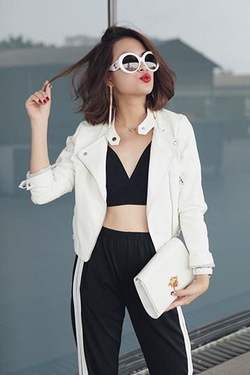 Hoàng Thùy Linh phá cách với tóc ngắn và phong cách tối giản