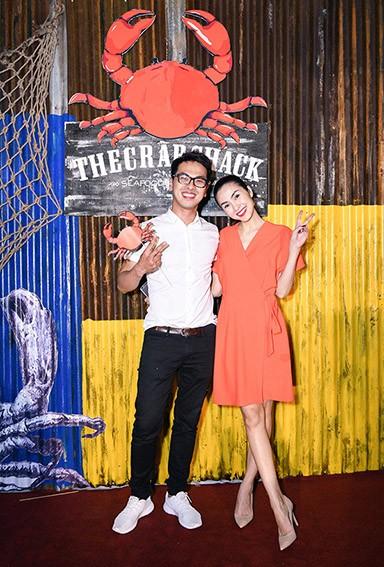 Siêu mẫu Quang Tuyến là người đồng hành cùng Tăng Thanh Hà hơn 10 năm qua