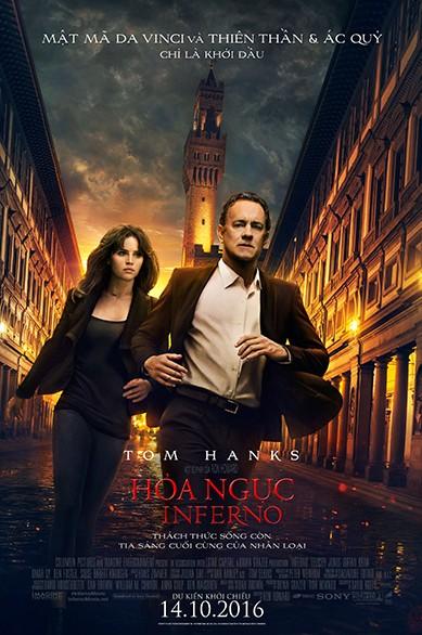 Huyền thoại Tom Hanks quay lại giải cứu thế giới trong Inferno - Hỏa ngục