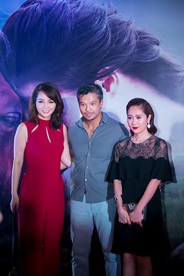 Diễn viên Mai Thu Huyền và diễn viên Việt kiều Lâm Vissay