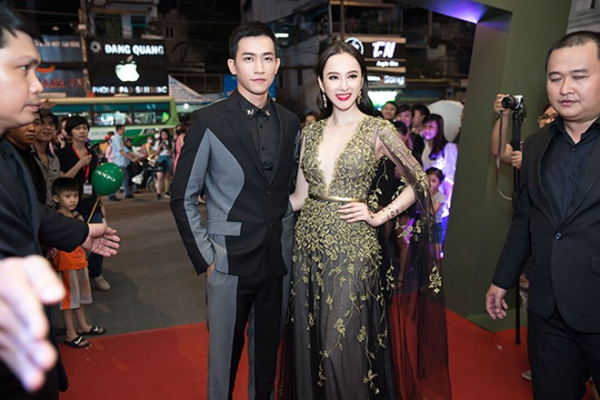 Võ Cảnh và Angela Phương Trinh đẹp đôi bên nhau