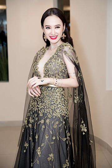 Angela Phương Trinh nổi bật với đầm dạ hội lộng lẫy