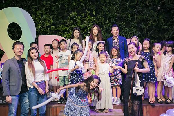 Trương Ngọc Ánh - Trần Bảo Sơn cùng tổ chức sinh nhật cho con gái