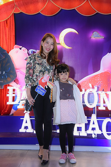 MC Diệp Chi và con gáiVân Hugo và con traiCa sĩ Đinh Mạnh Ninh