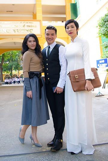 Siêu mẫu Xuân Lan cũng góp mặt trong MV mới của Mr Đàm