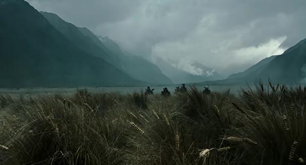 Bối cảnh phim ở những vùng đất hoang sơ của New Zealand