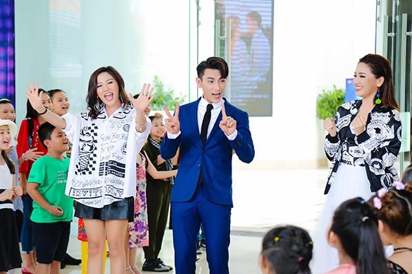 """Bộ 3 giám khảo của """"Viet Nam Idol kids"""""""