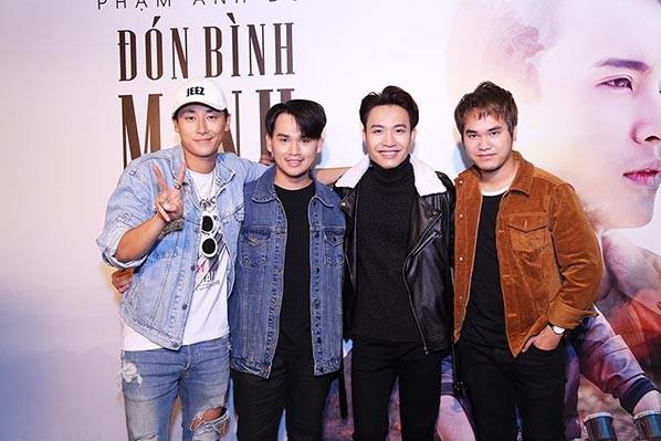 Hòa Minzy, Rocker Nguyễn sánh đôi đến mừng Phạm Anh Duy ảnh 10