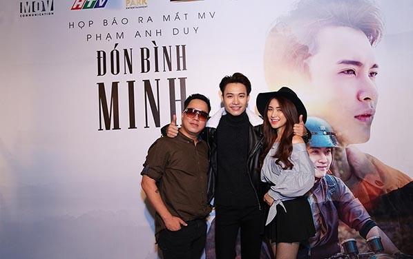 Hòa Minzy, Rocker Nguyễn sánh đôi đến mừng Phạm Anh Duy ảnh 9