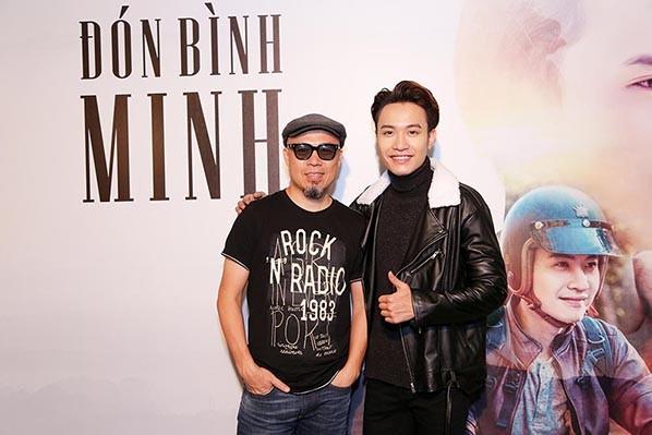 Hòa Minzy, Rocker Nguyễn sánh đôi đến mừng Phạm Anh Duy ảnh 5