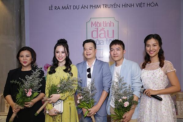 """Angela Phương Trinh, """"bộ đôi"""" đạo diễn và nhà sản xuất - bà Lê Hạnh"""