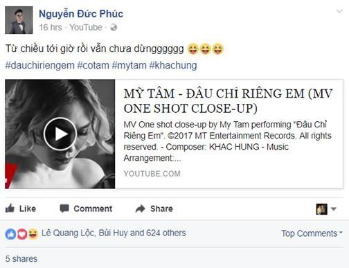 Dàn sao Việt xót xa nhìn Mỹ Tâm khóc như mưa trong MV mới ảnh 7