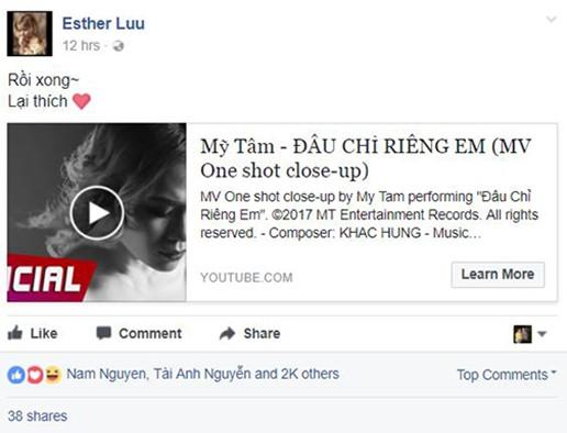 Dàn sao Việt xót xa nhìn Mỹ Tâm khóc như mưa trong MV mới ảnh 9