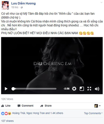 Dàn sao Việt xót xa nhìn Mỹ Tâm khóc như mưa trong MV mới ảnh 8