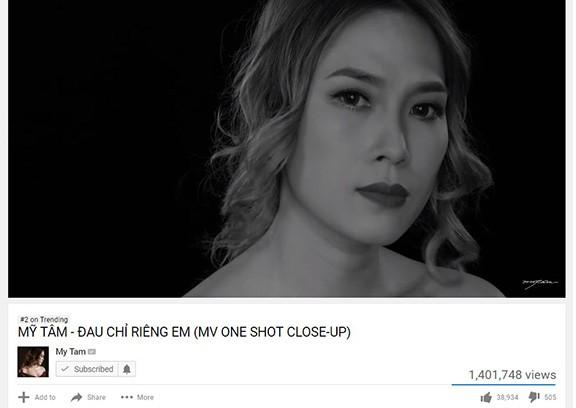 Chỉ hơn 1 ngày ra mắt, MV đạt con số kỷ lục về lượt view