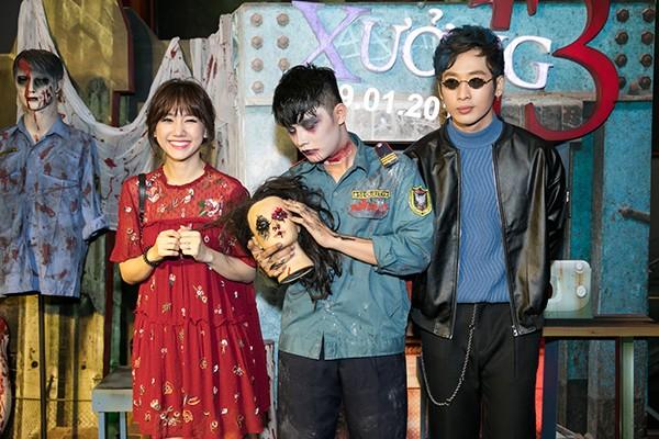 Hari Won đến chúc mừng người em thân thiết Tuấn Trần với vai diễn mới