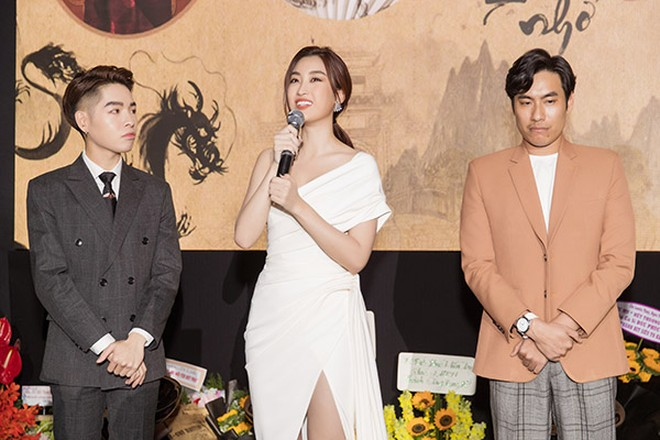 Hoa hậu Đỗ Mỹ Linh lần đầu thử sức trong vai trò diễn xuất