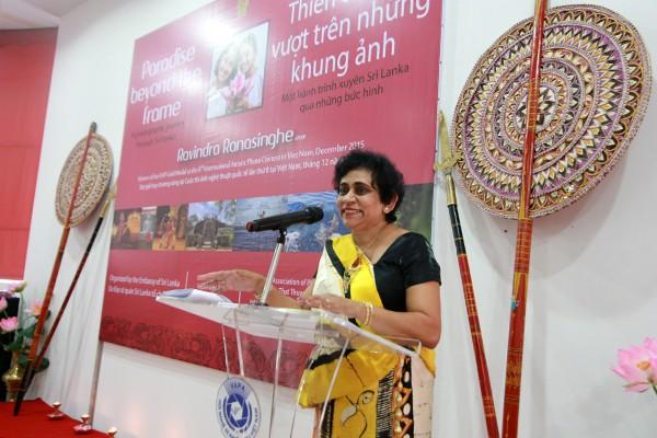 Bà Hasanthi Dissanayake, Đại sứ Sri Lanka