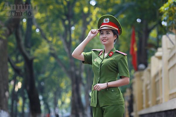 Chu Thị Nhung hiện đang là sinh viên lớp D28E - Đại học PCCC