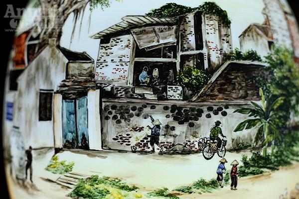 Làng quê Việt Nam qua những tác phẩm gốm Bát Tràng độc đáo ảnh 6