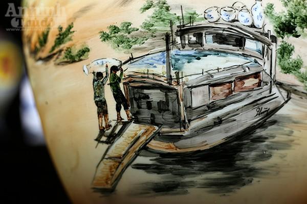 Làng quê Việt Nam qua những tác phẩm gốm Bát Tràng độc đáo ảnh 8