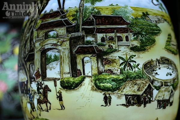 Làng quê Việt Nam qua những tác phẩm gốm Bát Tràng độc đáo ảnh 9