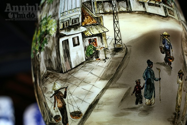 Làng quê Việt Nam qua những tác phẩm gốm Bát Tràng độc đáo ảnh 10