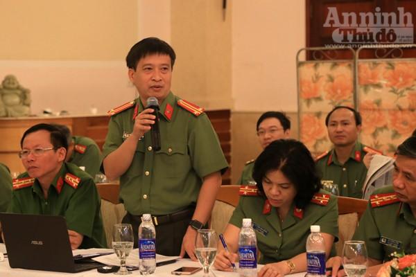 Trung tá Nguyễn Thanh Bình, Tổng Biên tập Báo An ninh Thủ đô