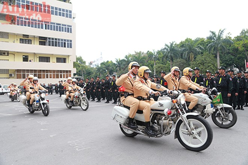 Lực lượng tuần tra sẽ phòng ngừa, ngăn chặn các nhóm tụ tập gây mất trật tự hoặc đua xe, cổ vũ đua xe trái phép