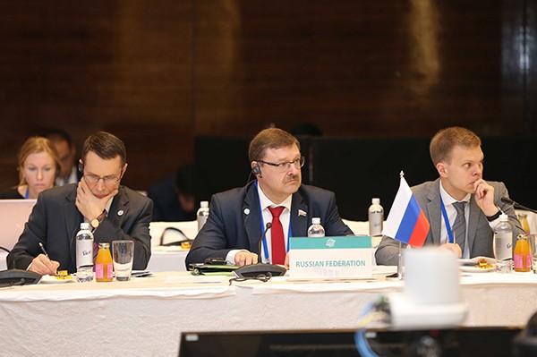 Các đại biểu dự phiên họp Ban chấp hành APPF - 26