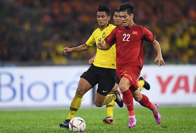 Với 2 bàn thắng ghi được trên sân Bukit Jalil sẽ là một lợi thế cho đội tuyển Việt Nam ở trận lượt về trên sân Mỹ Đình vào ngày 15-12 tới đây (ảnh Anh Tuấn)