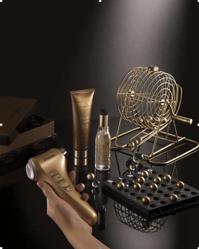 Vàng đang dần lên ngôi trong nền công nghiệp mỹ phẩm