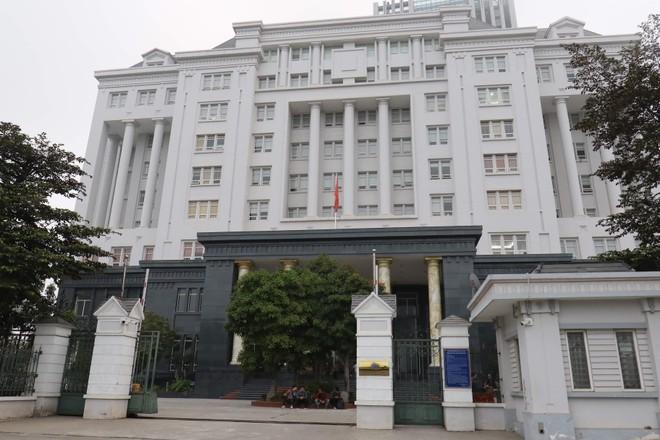 Trụ sở toà án nhân dân TP Hà Nội, nơi diễn ra phiên toà