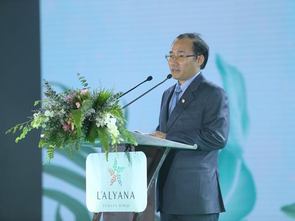 Ông Phùng Chu Cường, Tổng Giám đốc Phú Long chia sẻ đầy tâm huyết về dự án