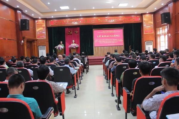 Lớp tập huấn nghiệp vụ bảo vệ cơ quan doanh nghiệp, trường học