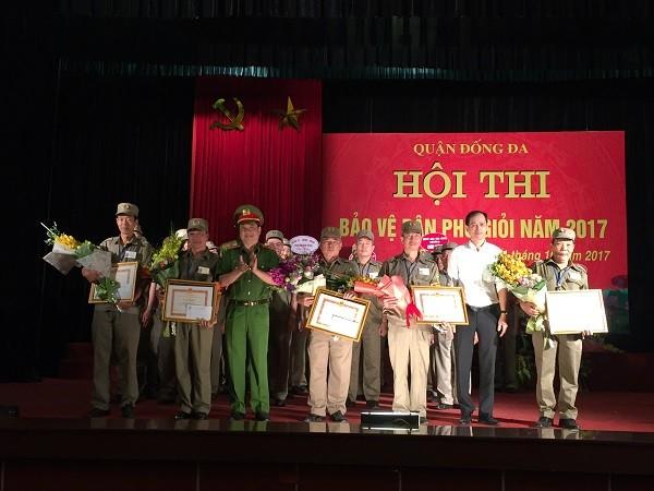 5 tập thể, 10 cá nhân được nhận khen thưởng từ Ban tổ chức hội thi