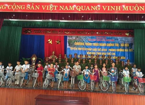 Tổ chức tuyên truyền pháp luật và các hoạt động xã hội tại Quảng Nam