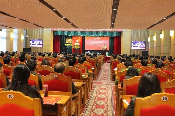 Hội nghị diễn ra trong một ngày tại 2 điểm cầu Hà Nội và TP.HCM