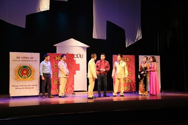 Liên hoan sân khấu kịch nói Công an Thủ đô năm 2017 có 34 đơn vị tham gia