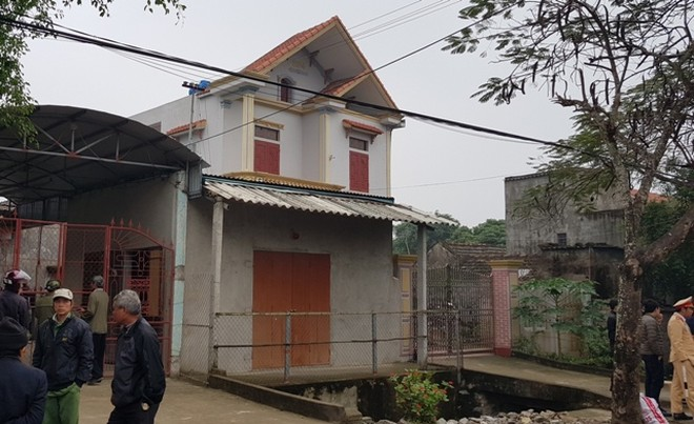 Ngôi nhà nơi xảy ra vụ án nghiêm trọng