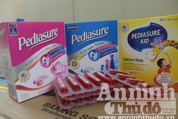 Các sản phẩm giả Pediasure dành cho trẻ em