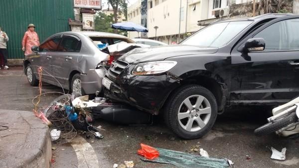 Vụ tai nạn làm nhiều người bị thương