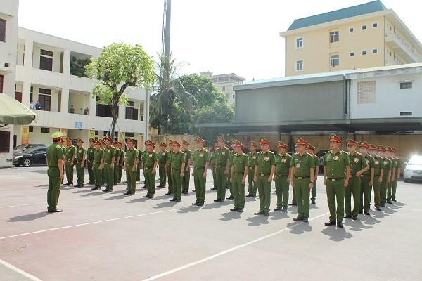 42 CBCS là CSKV, Công an phụ trách xã CAH Đông Anh tham gia chương trình kiểm tra